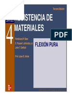 Tema 2 - Flexion Pura PDF - UPS