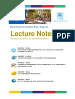 University Course Lecture Notes