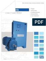 WEG Crusher Duty Three Phase Motor Usacd10.2016 Brochure English