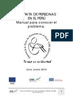 Trata Personas Peru Manual