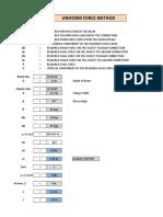 Unified Force Method