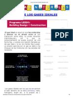 Ley de Los Gases Ideales Explicada Facil