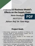 Pharma 3.0 - Midterm Presentation