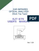 KJT-270 Users Manual v.1.23