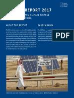 Climate Report Saudi Arabia 2017