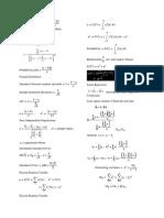 Formula Sheet STAT
