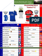Premier League 180101 round 22 Leicester - Huddersfield 3-0
