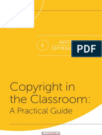Copyright in the Classroom a Practical Guide