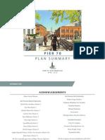 Pier 70 Master Plan Summary