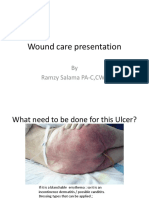 Wound Care Presentation With Pictures
