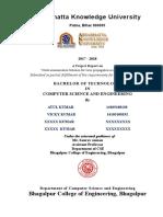 Certificate and Acknolegement1