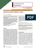 Assessment Scale for Delirium