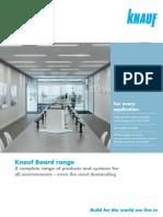 Board Range Brochure