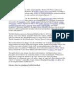 MLA Handbook in Wiki
