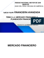 3 y 4-Gestion Finan Avan - Mercado Financiero