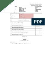SKP Kasubbag Program Dan Perencanaan
