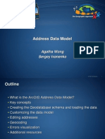 Address Data Model