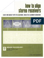 Hfe Sound Technology Aligning Stereo Receivers en 1973