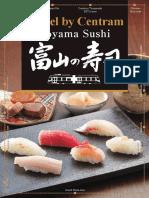 Toyama Tram Route and Sushi Restaurants 100731_02