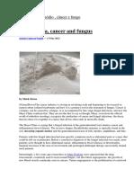 Bicarbonato de Sódio , Câncer e Fungo