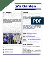 anitas garden newsletter - october 2017