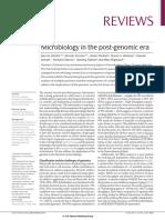 Microbiology in the Post-genomic Era