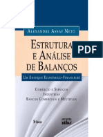 Assaf Neto ; Alexandrea - Estrutura e Analise de Balanco