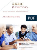 25140 Information for Candidates Document