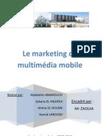 Le marketing du multimédia mobile