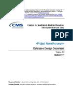 Database Design Document