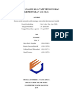 Laporan Kromatografi Gas Gc Kel 2