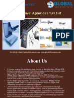 China Travel Agencies Email List.pptx