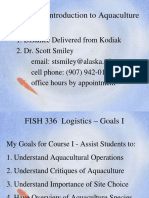 FISH 336 Lect 1 Logistics and Introduction as Given