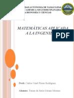 Matemáticas aplicada a la ingeniería