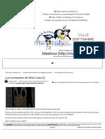 Los Comandos de GNU-Linux (I) – Maslinux