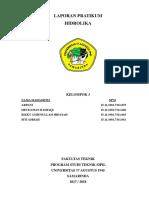Laporan Praktikum Hidrolika Kel. 3