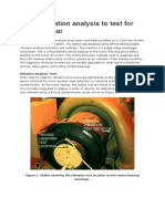Using Vibration Analysis to Test for Bearing Wear