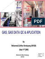 Gas, Gas Data Qc & Aplication Mud Logging