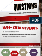 wh- questions