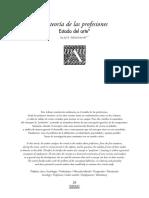 Artigo - Sociologia de Las Profissiones