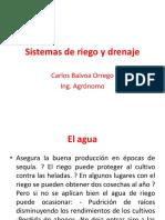 Sistemas de Riego y Drenaje (1)