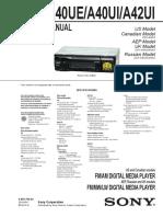 Dsxa40ui Service Manual