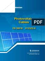 Photovoltaic Solar Cables