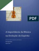 A Importância da Música na Evolução do Espírito