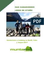 20170304131040 Rocosas Canadienses Colores de Otono Senderismo y Trekking en Banff Yoho y Jasper(1)
