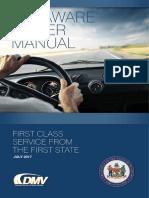 Delaware Driver's Manual