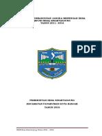 RPJMDesa 2011-2016