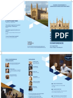 Cambridge Speechwriters' & Business Communicators' Conference 2018