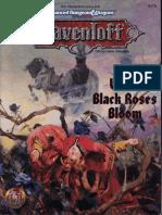AD&D - Ravenloft - Adventure - When Black Roses Bloom