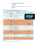 Semester1 17-18 Schedule